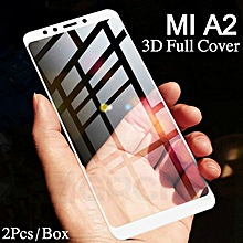 For Xiaomi A2 Tempered Glass Screen Protector For Xiaomi MI A2 3D Full Screen Cover Film