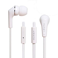 Guoaivo3.5mm Super Bass Stereo In-Ear Earphone Headphone Headset For Tablet MP3 WH -White