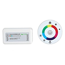18A Wireless RF Touch Panel Dimmer + Controller For DC 12~24V RGB LED Strip (White)
