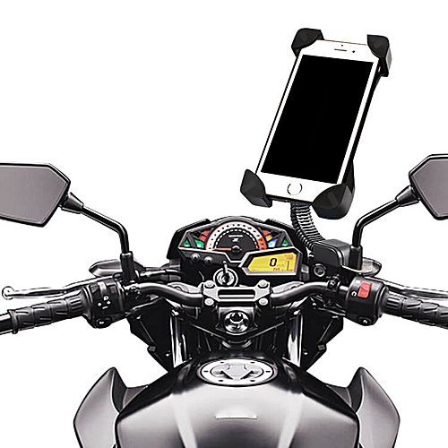 the latest e55e6 17ec7 Phone Holder for Motorbike iPhone & Android Mount – Black