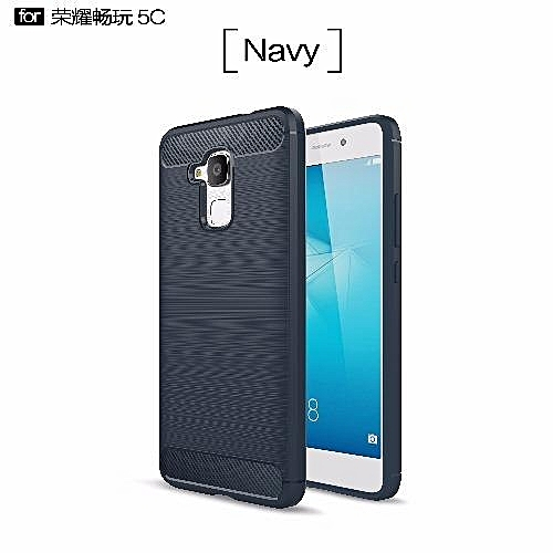 detailed look 717a5 d3683 For Huawei Honor 5C Rugged Armor Phone Cover Case(Navy) AKENAO