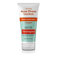 Oil-Free Acne Stress Control Power-Cream Wash - 177ml.