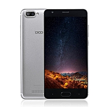 DOOGEE X20 5.0 Inch HD 2GB+16GB Dual Rear Camera 3G Phone For Android - Silver