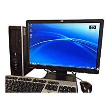 """Refurb hp 4300  - Core i3 desktop  - 4gb ram-500gb hdd-Monitor 19"""""""