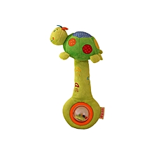 Turtle Rattle And Squeaker Toy - Multicolour