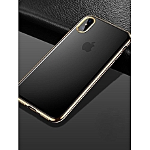 Phone Cover Ultra-thin Shockproof Hybrid Durable Case For Apple And Samsung Series Phone____IPHONE 7____gold