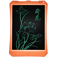 11 inch LCD Monochrome Screen Fine handwriting Writing Tablet High Brightness Handwriting Drawing Sketching Graffiti Scribble Doodle Board or Home Office Writing Drawing (Orange)