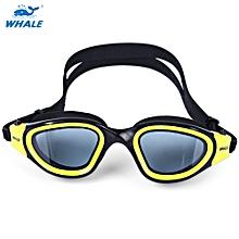 Swimming Goggles Anti-fog UV Protection Swim Glasses - Yellow