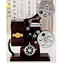 Music Box Home Decoration Kids X Mas Gift - Vintage Film Projector Shape