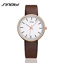 quartz watch women brand luxury leather watches ladies casual fashion watch relogios femininos reloj mujer aa154