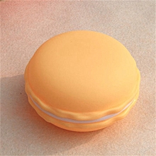 Mini Earphone SD Card Macarons Bag Storage Box Case Carrying Pouch-Yellow