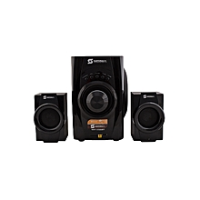 SHT-1156BT - Sub Woofer 2.1 Multimedia Speaker 5700W P.M.P.O - Black