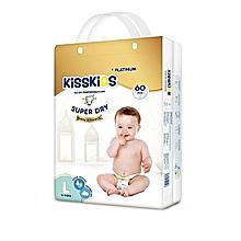 KISS KIDS PLATINUM: Diapers, Size Extra Large,  (> 15 Kg) - 56 Pcs