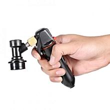 Keg Charger CO2 Injector Draft Beer Dispenser + Ball Lock For Homebrew Soda Valve Black