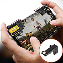 1 Pair Left+Right Gaming Triggers Smart Phones Game Shooter Controller No Block the Screen for PUBG