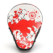 PU Leather Boxing Kick Hand Target Punch Pad Glove Focus MMA Muay Thai Training