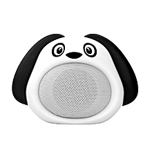 SNOOPY -White Promate Bluetooth Speaker, Portable Wireless Kids Bluetooth V4.1 Speaker with HD Sound Quality, Hands-free call function and Cute Dog Design for Bluetooth Enabled Devices