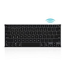 Ajazz AK3.1 Ultra-thin BT Keyboard 78 Keys Rechargeable Ergonomic Metal Panel Mini Keyboard For Phone PC Laptop Tablet