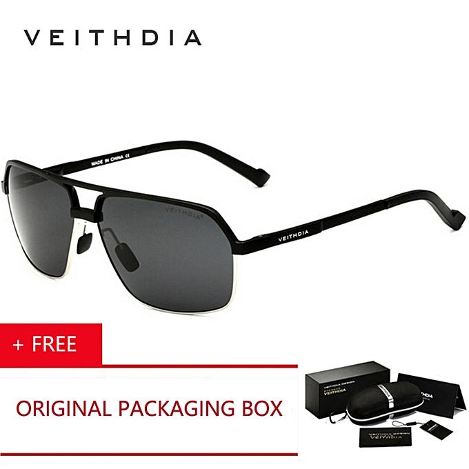 973bf11ffd VEITHDIA 2017 New Men Brand Designer Sport Driving Aluminum Magnesium Polarized  Sunglasses Glasses Goggles Eyeglasses Mirror