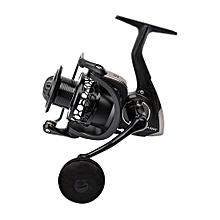 TSURINOYA NA2000 3000 4000 5000 9BB 5:2:1 Fishing Spinning Reel Fish Tool-BLACK