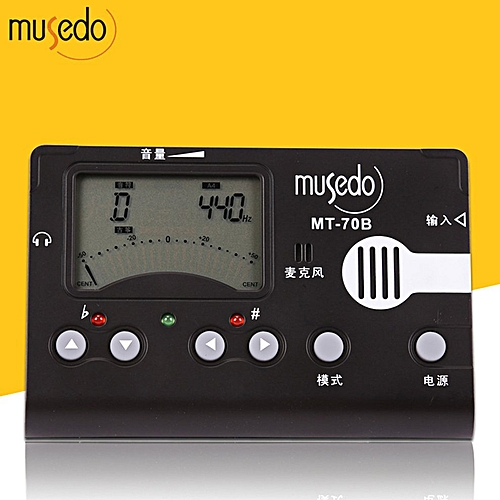 Tuner Clip / MIC Electronic Digital LCD Metronome Tone Generator Clip-on