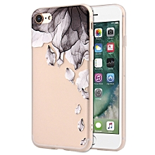 Soft Silicone Flowers Gedessineerde Case Cover For IPhone 7/8 4.7 Inch
