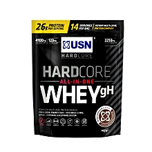 HardCore Whey gH - 462g (1 lbs)- Dutch Chocolate