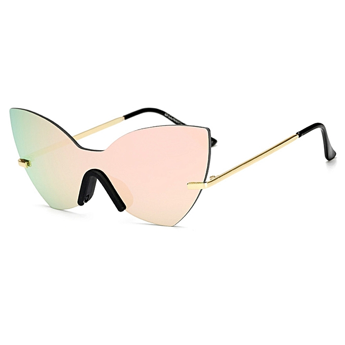 46511cfecc3 Fashion Unisex Vintage Irregular Glasses Fashion Aviator Mirror Sunglasses