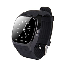 M26 Smart Watch With Pedometer & Sleeping Monitor & Calculator & Call Reminder & SMS / Wechat Alerts Function(Black)