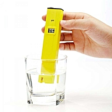 PH-009 Pocket Digital pH Meter Tester - Yellow