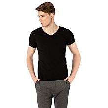 Black Standard Male Undershirt