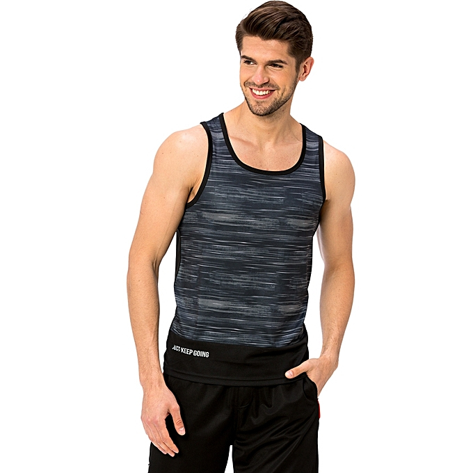 Black Fashionable Jersey Tank Top