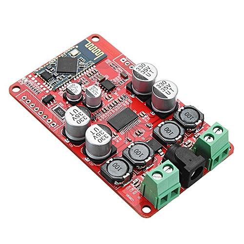 TPA3118 DC 8-26V 2 x 30W Dual Channel Bluetooth Power Amplifier Board  Stereo Bluetooth CSR4 0 Receiver Digital Amplifier Board