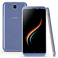 "5.3"" 3G 4 Core 8GB Mobile Phone Android 5.1 un-locked Smartphone Dual SIM-purple blue"
