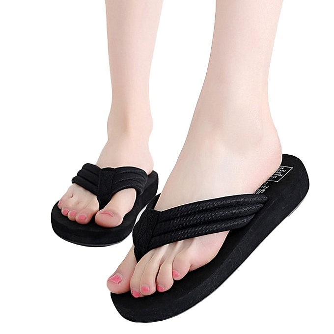 def06e1926cc9f Fashion Women Flip flops Slippers Beach Sandals Summer Home Shoes ...