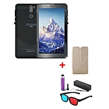 "A7 Plus Kids Tablet – 7""  – 1GB RAM – 16GB ROM – Wi-Fi - 4G (Single SIM) - Black with with Free Stylus, Cover, Powerbank & 3D Glasses"