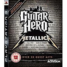 PS3 Game Guitar Hero Metallica