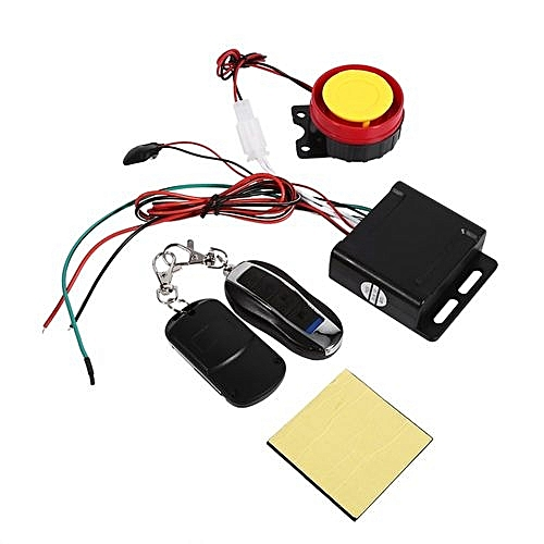 Motorcycle Bike Anti-theft Security Alarm System Remote Control 12V