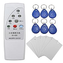 DANIU SK-658 13Pcs 125KHz RFID ID Card Reader Writer Copier Duplicator with 6 Cards/Tags Kit
