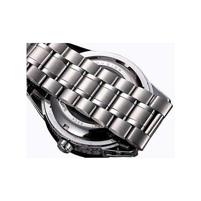 ... Brand Fashion Luxury Men's Mechanica Watches Automatic Skeleton Watch Clock Male Business Waterproof Relogio Masculino F8378 ...