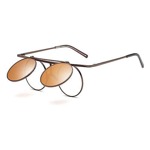 8de8a62832a Buy Generic Steam Punk UV400 Sunglasses Polarized Lens Flip-ope ...
