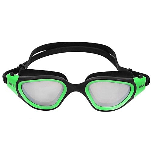 5a9079687aaf Generic  clearance Sale+ready Stock WHALE Electroplated Anti-Fog Anti-UV  Snorkeling Goggles Diving Glasses Scuba Eye Protector