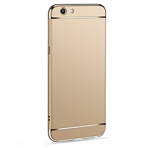 3in1 Ultra-thin Electroplated PC Back Cover Case For Vivo Y53 418134 Color-2