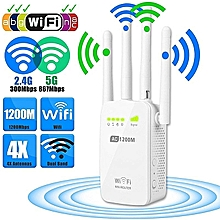 Router Extender High_speed 4-Antenna Dual Band WiFi Extender WiFi Repeater Repeater