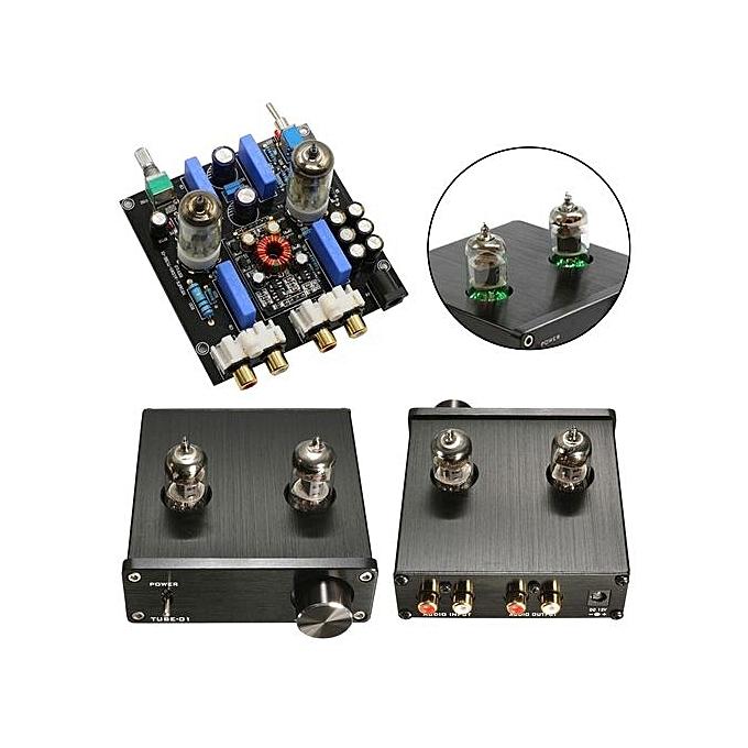 Douk Audio Mini 6J1 Valve & Vacuum Tube Pre-Amplifier Stereo HiFi Buffer  Preamp