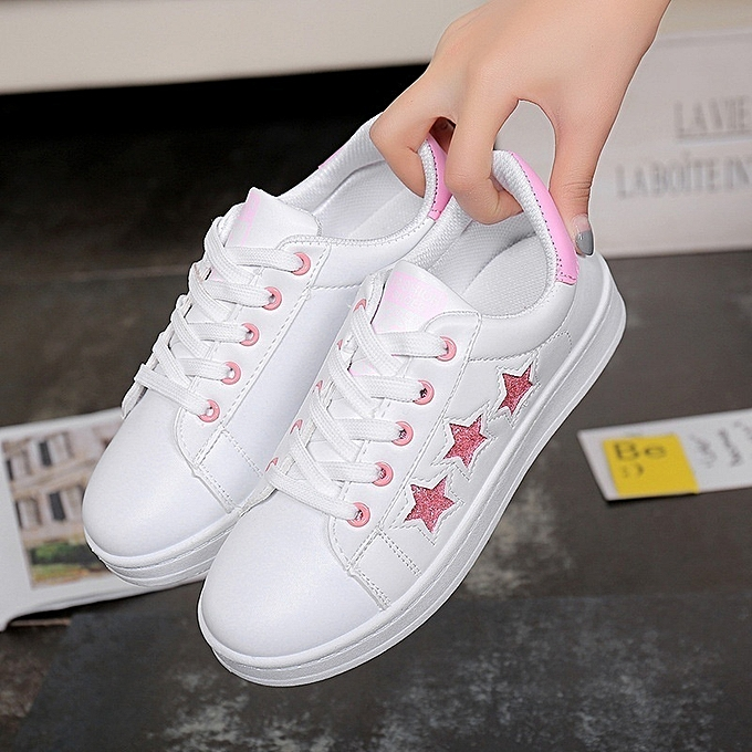 251e8c5a629f Generic New Stylish Lacing Running Girls' Shoes with Stars @ Best ...