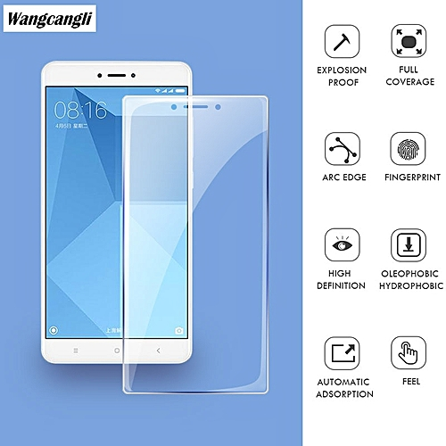 Generic Tempered Glass For xiaomi redmi 4x Screen Protector Full Cover 9H Glass Film For xiomi redmi note 4x Glass Protective glass