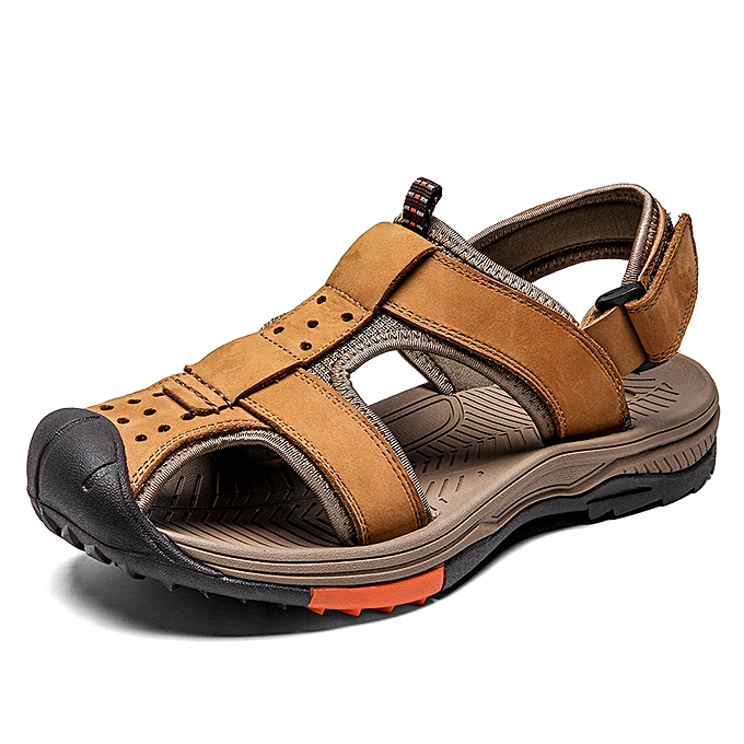 5ed96fc8c SocNoDn Men Casual Fashion Summer Beach Sandals Shoes Yellow   Best ...