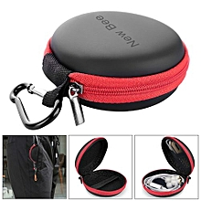 Multifunction Portable Mini Storage Bag With EVA Materia And Zipper Desigh And For Headphone Data Cable