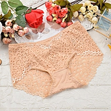 HOT sale chrochet lace cotton ladies panty